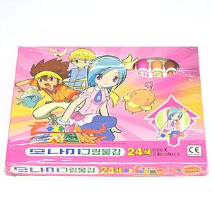 모나미 수채화그림물감 6cc 24색