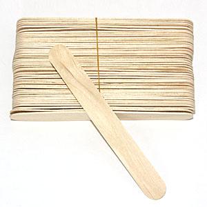 만들기재료/교육용교재/칼라스틱/아이스바/하드스틱(나무색) 중(10mmx50개입)
