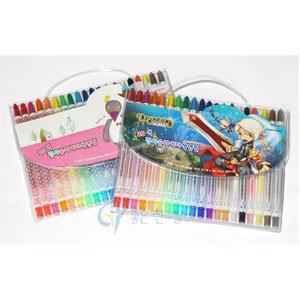꼬마또래 돌돌이색연필 20색/20색 전사슬라이더색연필