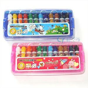 5000 꼬마또래 수채화그림물감/수채화물감 6cc 12색/12색그림물감