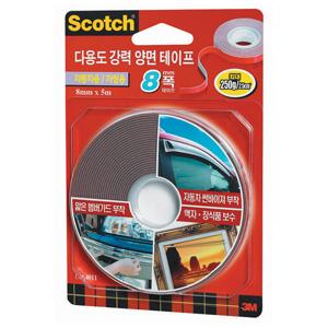 3M 스카치 다용도 강력 양면테이프 4011 8x5