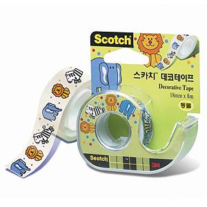 3M 스카치 데코테이프/스카치테이프 18x8