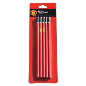 신학기선물용/맨유 연필5본세트