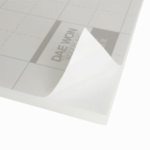 대원 백색원단 단면접착보드/우드보드/우드락 5T(60x90cm)