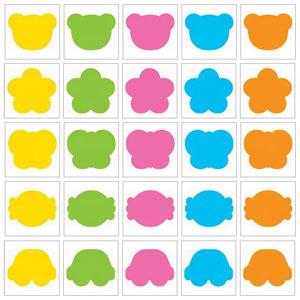 스티카/그림스티커/시트지이름표/스티커이름표/곰(10장입)