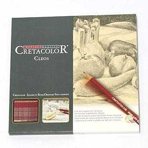 Creta최고급연필/크레타 전문가용연필 24색