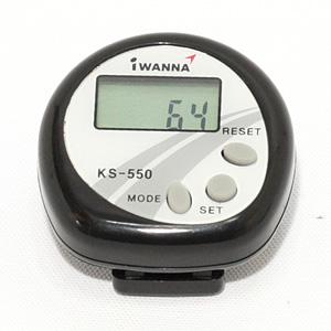 IWANNA 디지털 만보계 KS-550