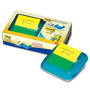 3M 포스트잇 팝업디스펜서 C-4214+팝업리필 3패드