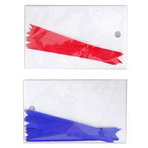 상스티카(적색/파란색리본)/상장리본/상스티커리본 10개입(8.5cm)