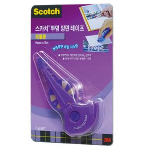 3m 스카치 투명양면테이프(펜타입) 리필용 017