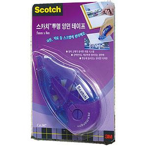 3m 스카치 투명양면테이프(펜타입) 017