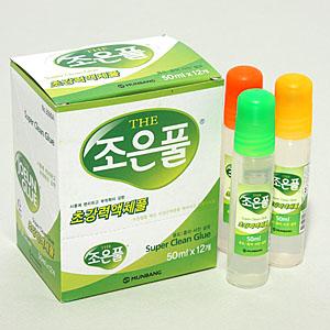문방 강력조은풀 (12개) 50ml/초강력액체풀