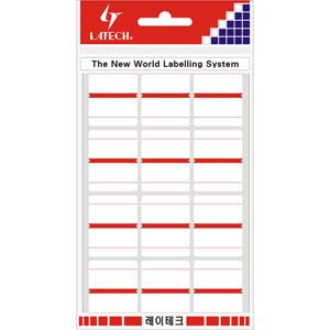 레이테크 인덱스 라벨/견출지 10-G124
