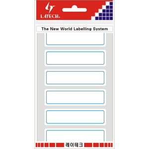 레이테크 표제용 라벨/견출지 10-G208