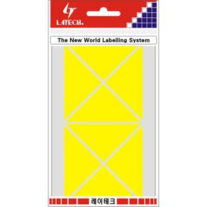 레이테크 칼라분류용 라벨/견출지 10-C334Y/스티커