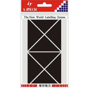 레이테크 칼라분류용 라벨/견출지 10-C334BL/스티커