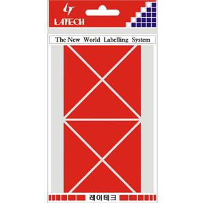 레이테크 칼라 분류용 라벨/견출지 10-C334R