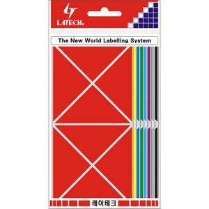 레이테크 칼라 분류용 라벨/견출지 10-C334A