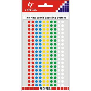 레이테크 칼라분류용 라벨/견출지 10-C306A/스티커