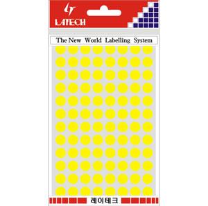 레이테크 칼라 분류용 라벨/견출지 10-C304Y/스티커