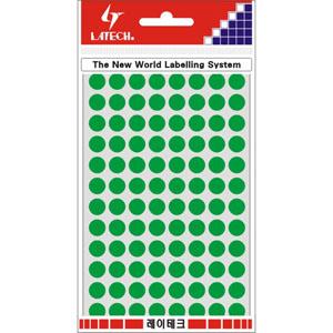 레이테크 칼라 분류용 라벨/견출지 10-C304G/스티커