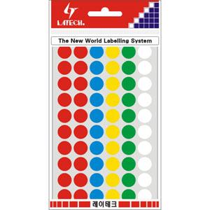 레이테크 칼라분류용 라벨/견출지 10-C303A/스티커