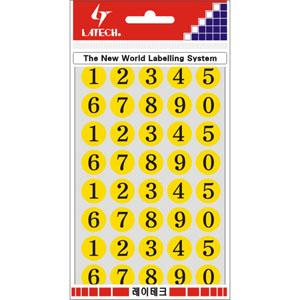 레이테크 레터링/칼라표제용 라벨/견출지 10-C412Y