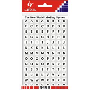 레이테크 레터링/칼라표제용 라벨/견출지 10-C403W