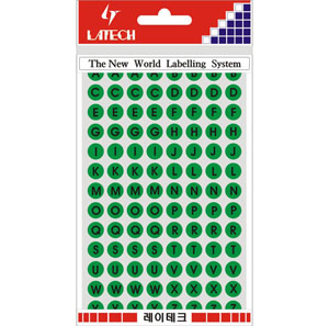 레이테크 레터링/칼라표제용 라벨/견출지 10-C403G
