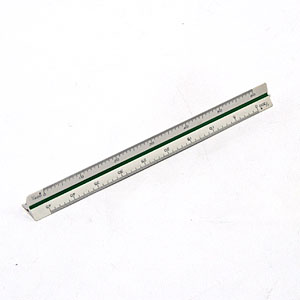 삼각스케일 10cm