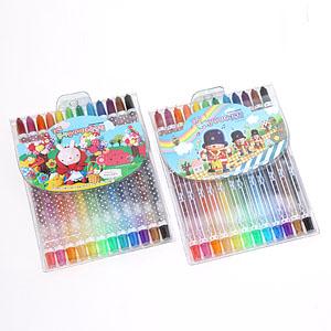 꼬마또래 돌돌이색연필 12색/슬라이더색연필 12색