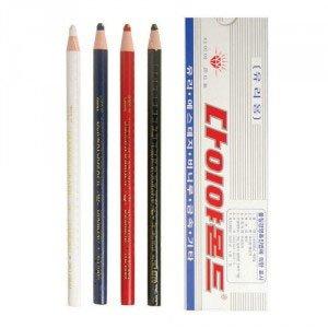 다이아몬드 채점용색연필/유리용색연필 12자루