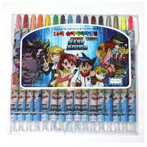4500 카드리버 돌돌이색연필16색/슬라이더색연필 16색