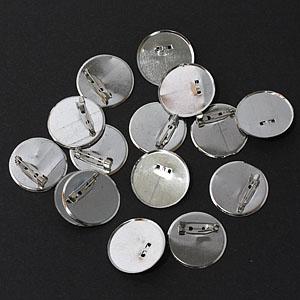 만들기재료/꾸미기재료/브로치핀/원형핀(캡판) 21파이 1봉(500개입)