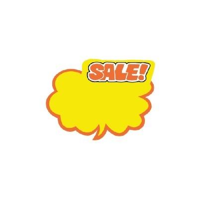 아트사인 POP/SHOW CARD/구름형 SALE*6매/P2020