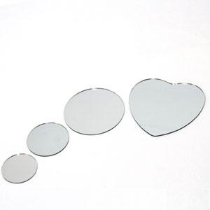 좋은친구들 만들기재료 거울(하트 10cm) 10개