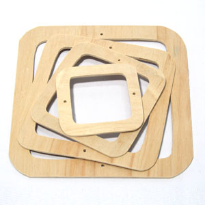 인테리어/조화/원목리스틀(사각)/만들기재료