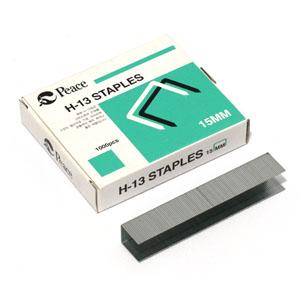평화 강력 스테플러침 H-13 17mm(1000개)