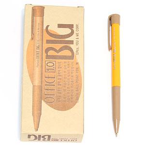오피스 빅속기용/BIG 볼펜 1.0mm 12자루