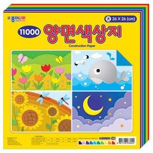 종이나라 11000 양면색상지(대)/색종이