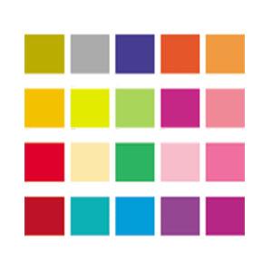 종이나라 형광단면디자인색상지(31-50) 10매