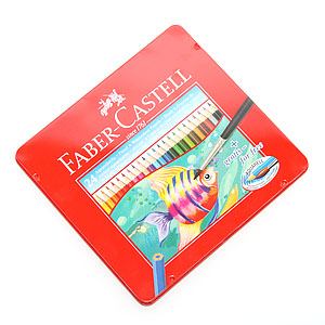 파버카스텔 수채색연필 24색