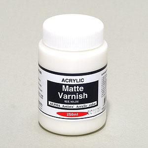 알파색채 매트 바니쉬 250ml