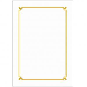 우진 테두리(선)상장/금박상장 G1 100매