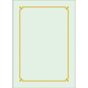 우진 칼라상장/금박상장 GE1(100매)
