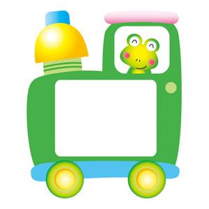 유아명찰/유아이름표/기차명찰(초록색)
