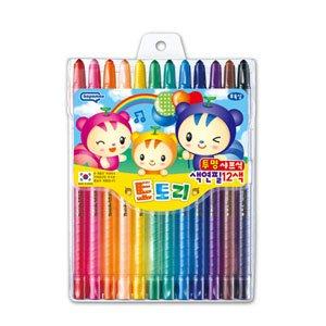 카파맥스 도토리색연필 12색/슬라이더색연필12색/무독성색연필12색