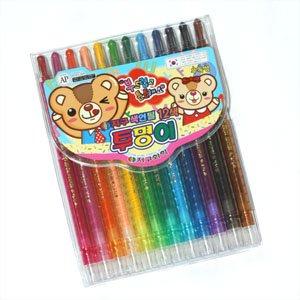 지구화학 지구색연필 12색/지구투명이색연필 12색
