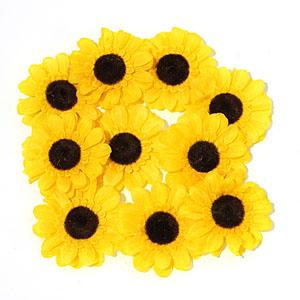 환경구성용품 꽃/해바라기 소(6cm) 4개입