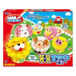 종이나라 15000 데코클레이 동물컵케이크만들기/클레이점토